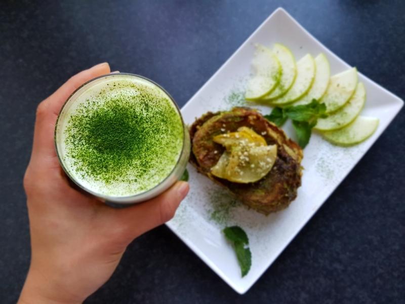 Japanese Matcha French Toast (Vegan)