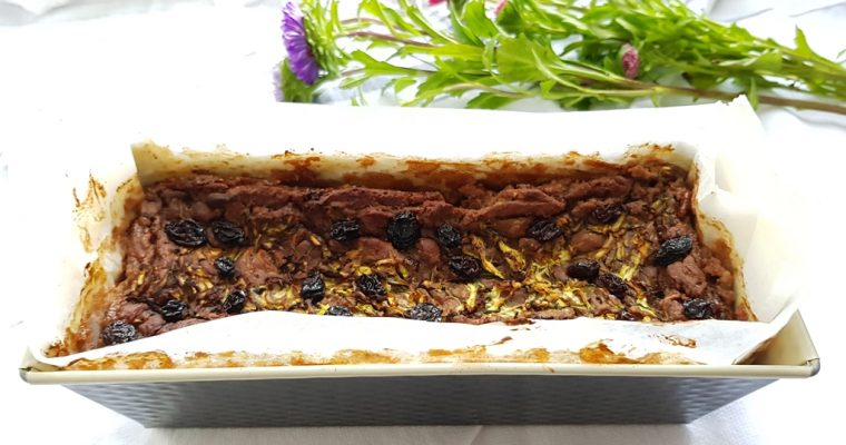 (Vegan) Chestnut Zucchini Bread – oh so gooey!
