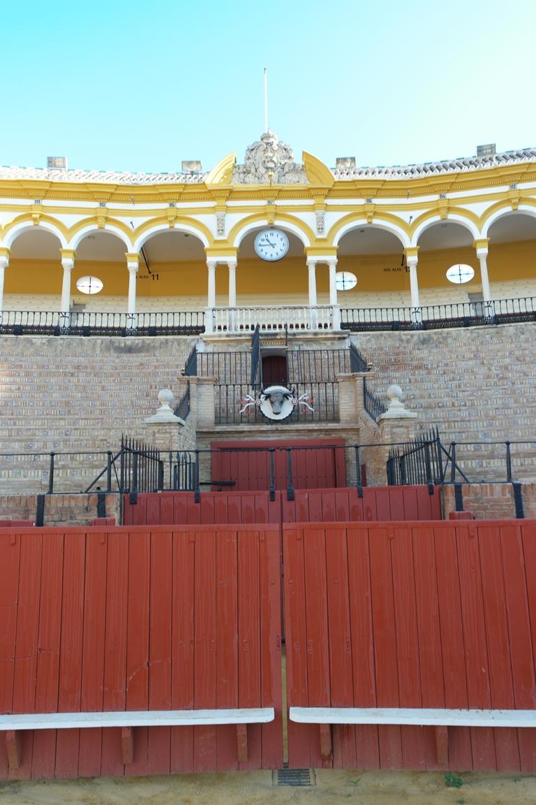 Seville_PlazadeToros_Bull Entrance