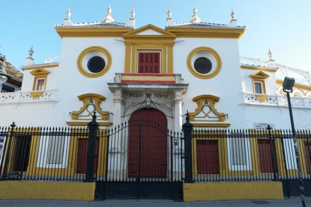 Seville_PlazadeToros_Facade