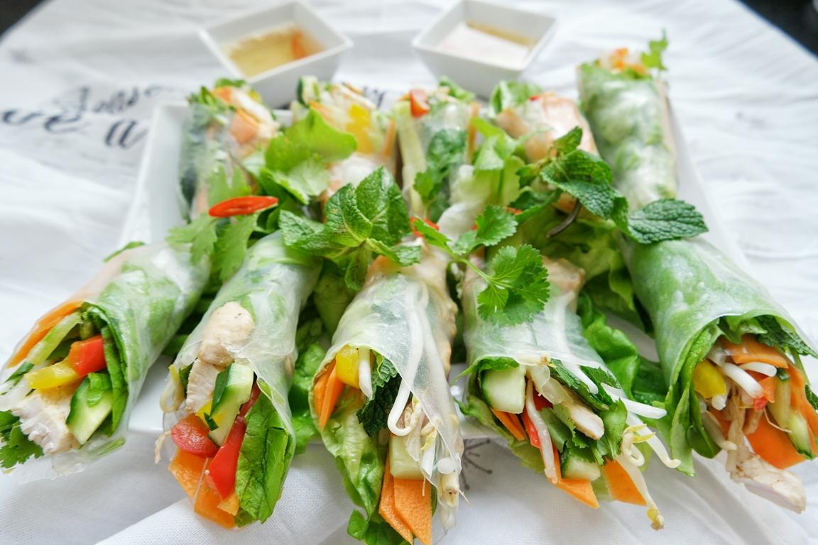 Vietnamese Summer Rolls – Light version – 2 ways