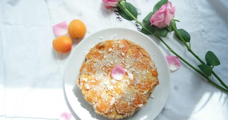 Warm Spiced Apricot Cake (Vegan, Gluten-free)