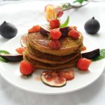 Perfect for fall - Healthy Pumpkin Pancakes (Dairy-free, gluten-free & veganisable)