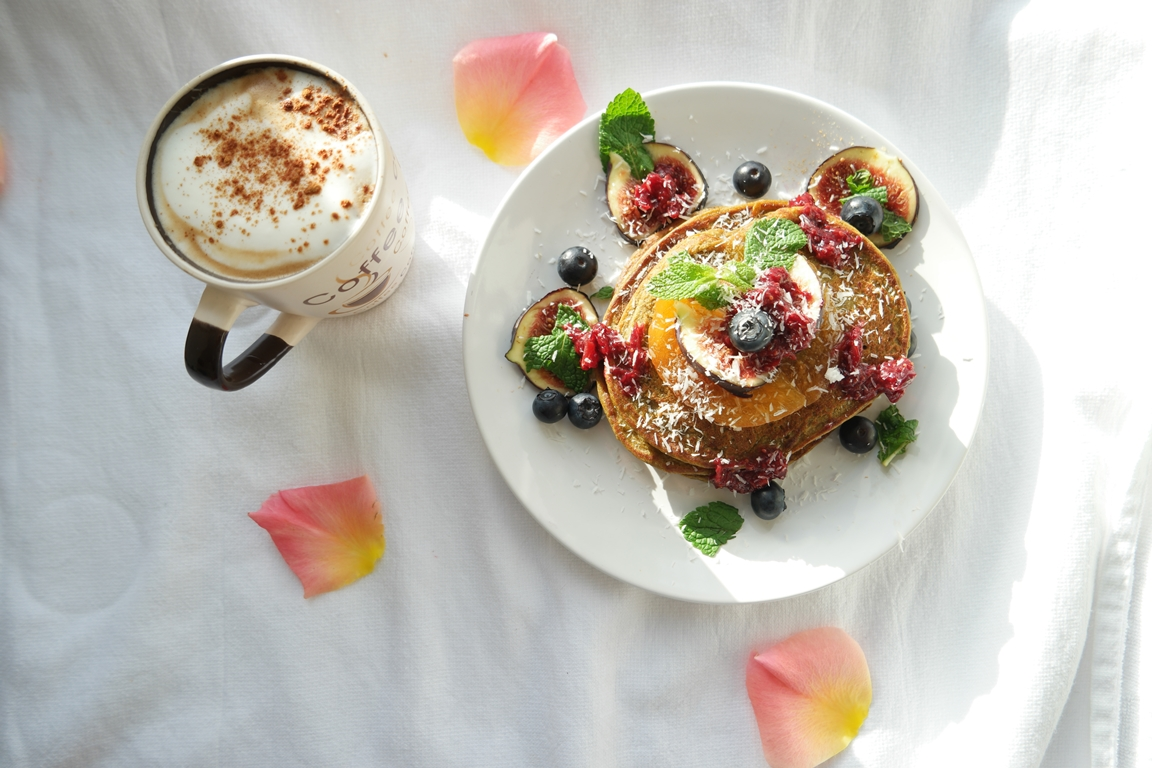 The fluffiest pancake recipe – Vegan Pumpkin Pancakes