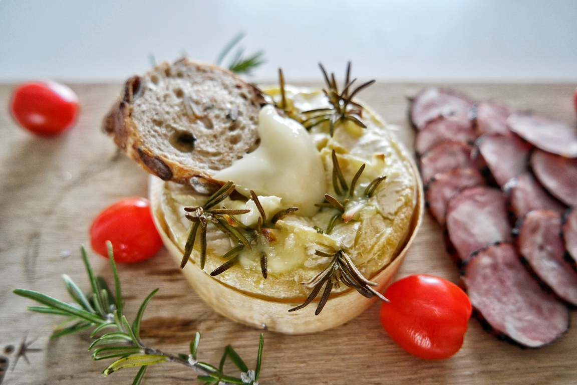 Holiday brunch with Cheesilicious Baked Camembert