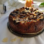Healthy Vegan Chocolate Pear Almond Cake