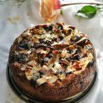Vegan Chocolate Almond and Pear Cake