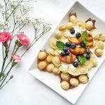 Healthy Hong Kong Egg Waffles