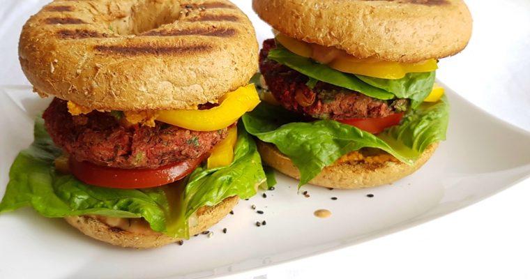 Grillable Veggie Burger Patties – a meal-prep champion!