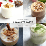 Café latte - 4 delicious ways