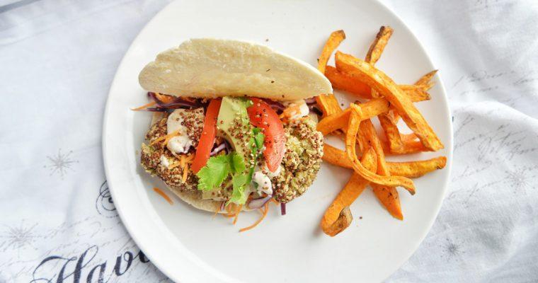 The Best Falafel Recipe – Quinoa Crusted Lentil Falafels